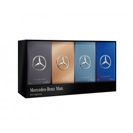 Coffret x4 Mercedes-Benz Man