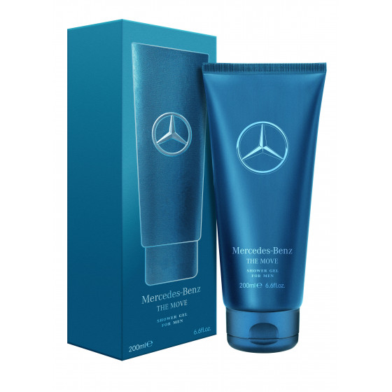 Shower gel Mercedes-Benz THE MOVE