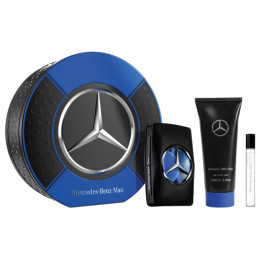 Coffret Mercedes-Benz Man + Gel Douche + Pen Spray